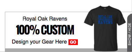 Royal Oak Ravens - 100% Custom - Design your Gear Here